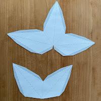 étape pour créer des étoiles de david en papier