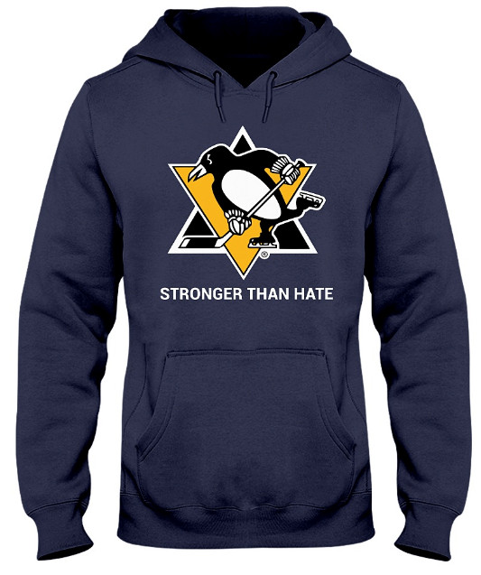 Penguins Stronger Than Hate T Shirt Hoodie Sweatshirt. Do you love it? Please LIKE & SHARE