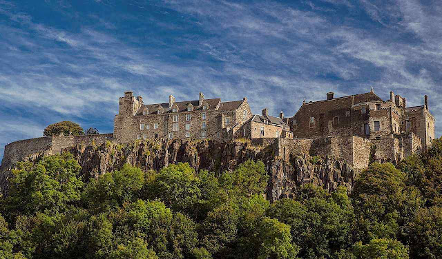 Stirling foi disputado durante séculos entre a Escócia e a Inglaterra.