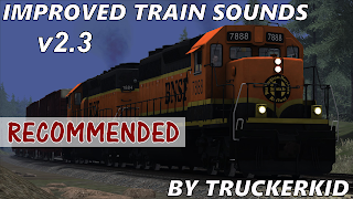 Improved Train Sounds v2.3, american truck simulator mods, ats Improved Train Sounds v2.3, ats mods, ats mods download, ats sound mods, ats realistic mods, ats 1.32 mods, american truck simulator improved train sounds, american truck simulator improved train sounds 1.32