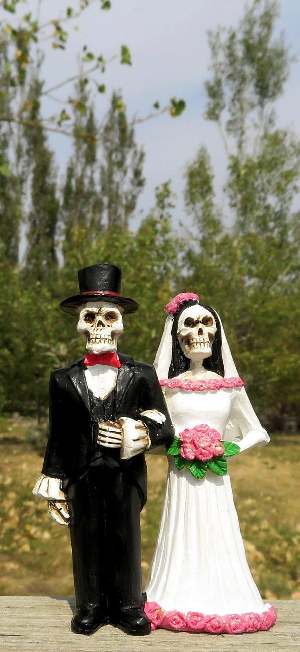 Failed marriage.