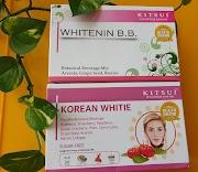 Kulit Berseri dengan Kitsui Korean Whitie dan Kitsui B.B Whitening