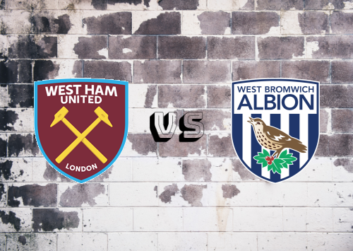 West Ham United vs West Bromwich Albion  Resumen