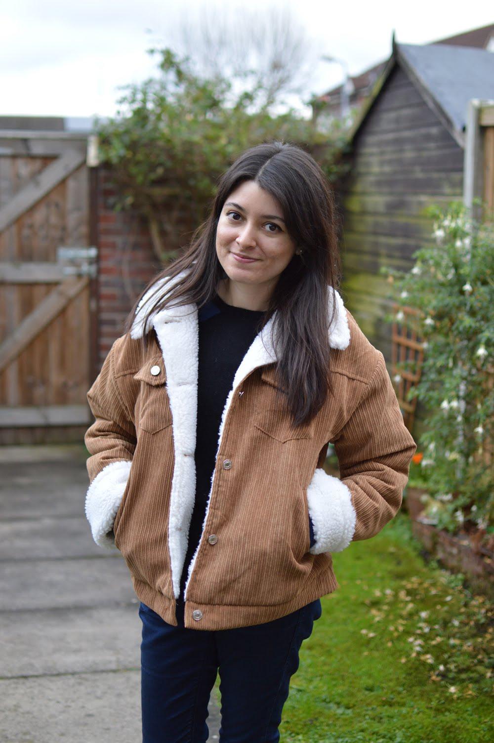 Cord Sherpa Jacket