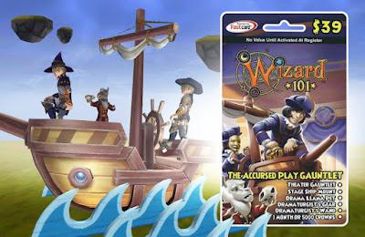 Wizard101 Accursed Play Gauntlet Bundle