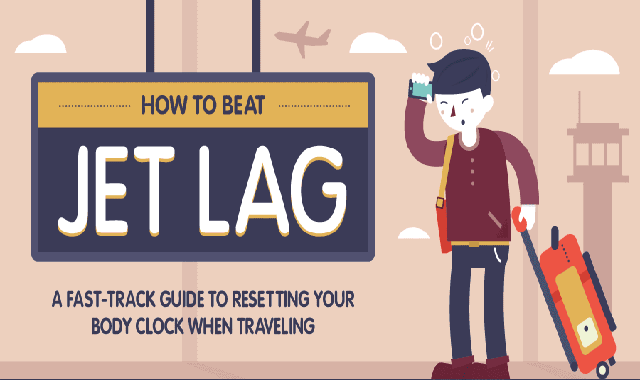 How to Beat Jet Lag #infographic