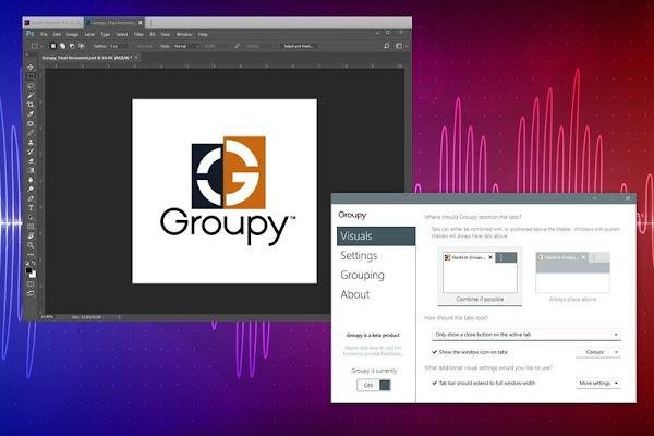 Download Stardock Groupy Full - Quản lý các ứng dụng theo tab