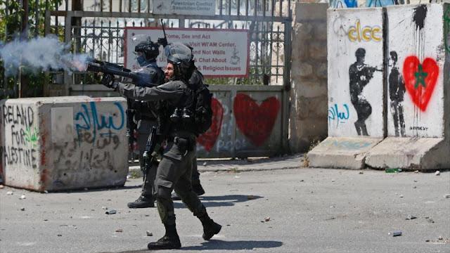 Israel reprime a los palestinos en Día de Solidaridad con Presos