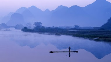 A Memorable Day on the Li River in Guangxi in China