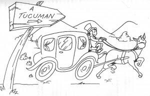 Tucumán en caballo 9 de julio