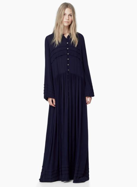 Fondo de armario rebajas FW 2015-2016 long black dress