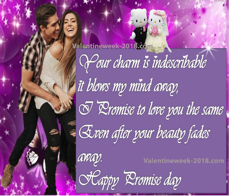 Happy promise day pic hd 2018