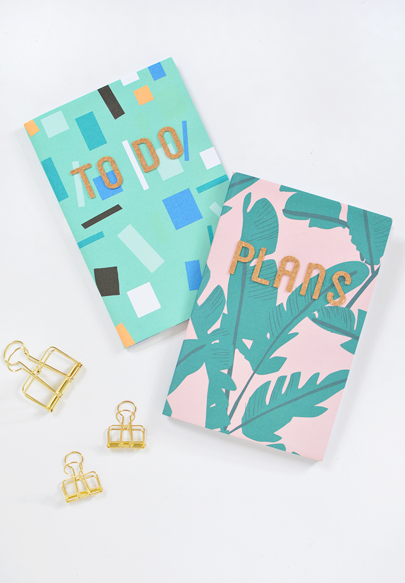 notebook craft project