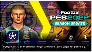 Download PES 2022 PPSSPP New Update Full Kits Chelito V7.3 Best Graphics & Last Transfer