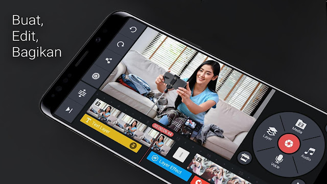 Download Kinemaster PRO Apk Aplikasi Edit Video Popular Youtuber Mobile