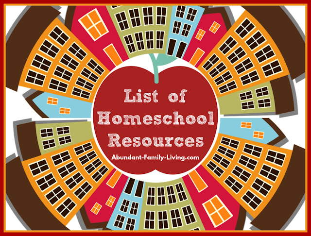 Resources for Homeschool Families