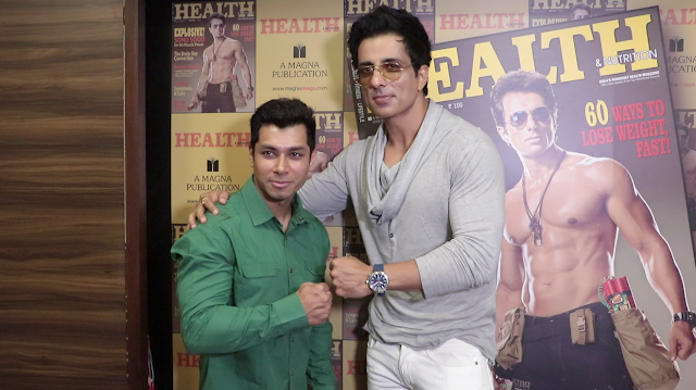 Sonu Sood At HEALTH and NUTRITION Magazine Launch Gallery