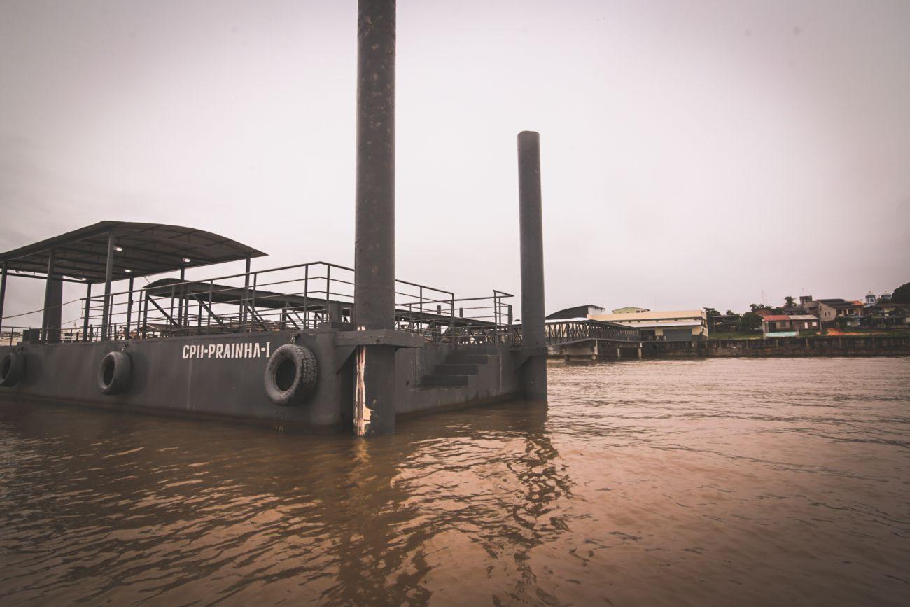 Governo autoriza operações no terminal hidroviário de Prainha; obra custou R$ 3,2 milhões