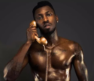 "Orezi's  poses nude in his upcoming ""Call the Police' art cover"