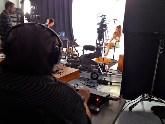 Music Senstation Ariana Grande shoots at Canvas Films' Ft. Lauderdale Video Production Studio