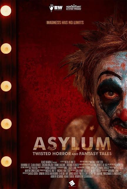 'ASYLUM: Twisted Horror and Fantasy Tales', una nueva antología de terror de Black Mandala [Tráiler]