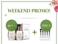 Gratis 5 Tester Setiap Pembelian 2 Parfum Classic Collection