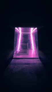 مدخل تصميم بلون اسود