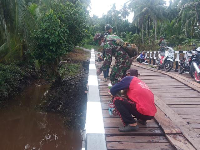 TMMD Permudah Akses Jalan Darat Menuju Tempat Wisata Pantai Satiruk