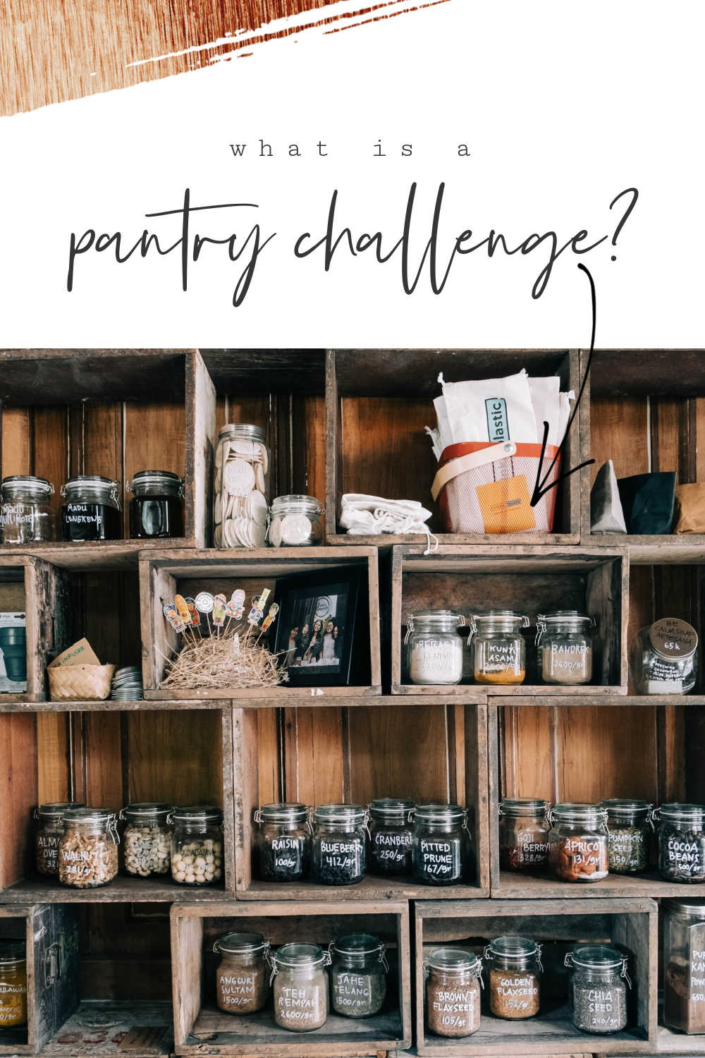 what is a pantry challenge
