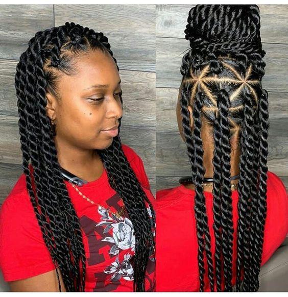 Recent New Braiding Hairstyle Latest 2019 Box Braids Styles