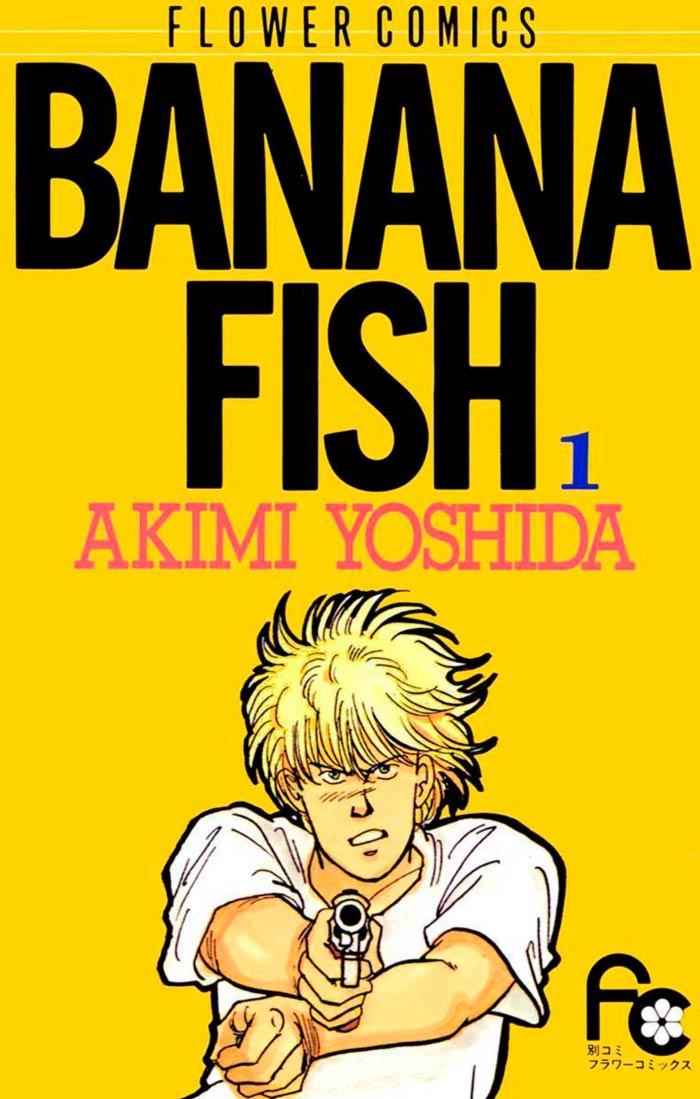 Banana Fish manga - Akimi Yoshida