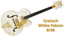 Guitarras Gretsch White Falcon 6136