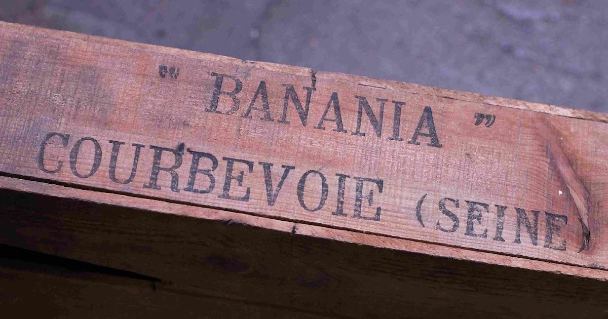 marinette vintage blog plaques de propret banania anciennes stock d 39 une ancienne epicerie de. Black Bedroom Furniture Sets. Home Design Ideas
