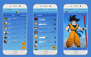 Goku Theme For YOWhatsApp & Fouad WhatsApp By Leidiane
