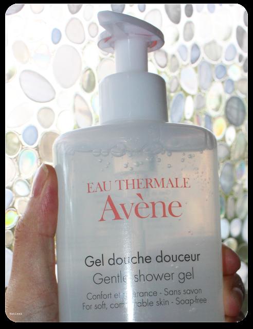 gel douche douceur d'Avène