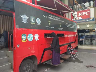 Pembayaran Pajak Kendaraan Motor di Bus Samsat Keliling Batam