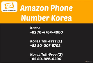Amazon Phone Number Korea