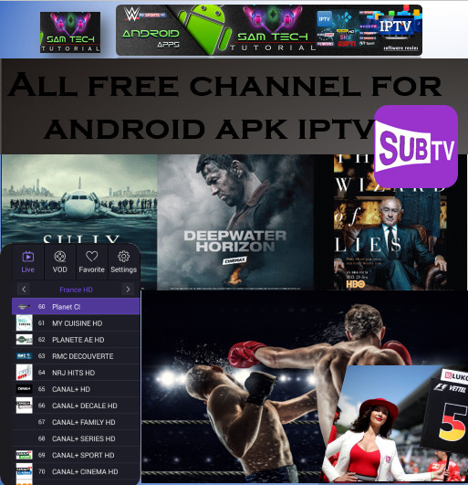 Download Free SUBTV- IPTV Apk For Android This App Provide Lots of PremiumCable Channel,SportsChannel,Movies Channel.Watch LiveTVAny Where In The World Through Internet With Multiple Devices Like Computers,Tablets,SmartsPhones Smart TV Must Have Android Devices.