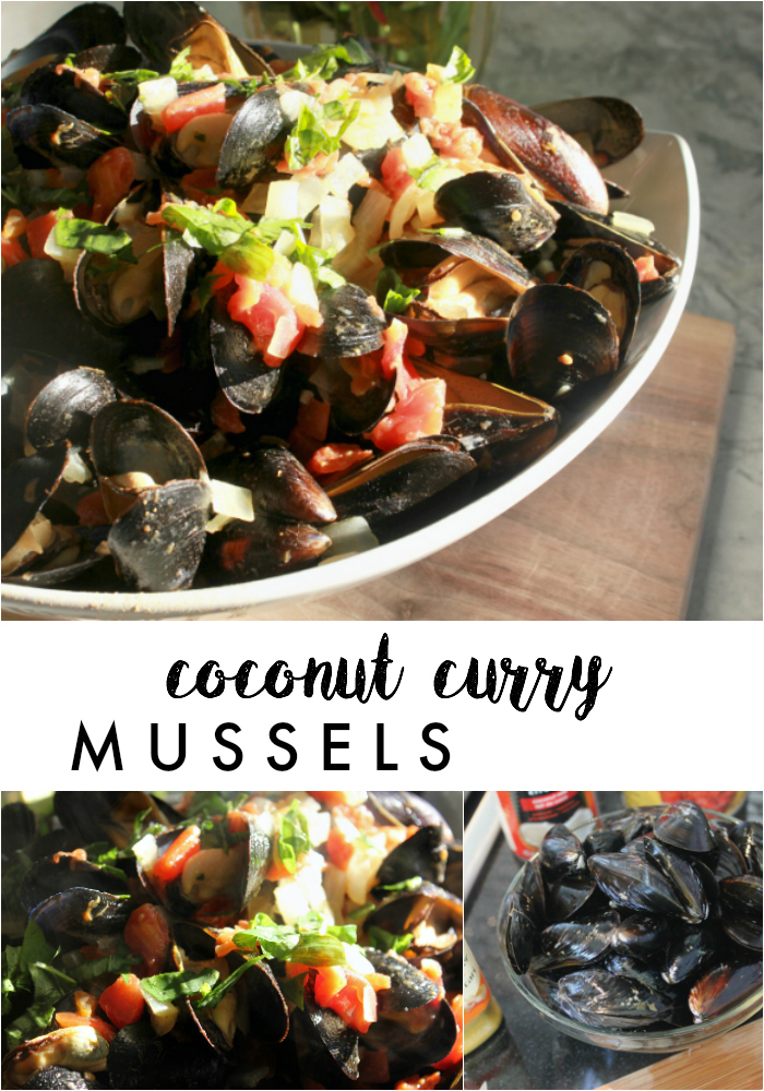To & Fro: Family Meals & Coconut Curry Mussels Recipe