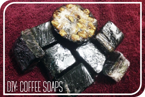 + DIY BEAUTY + COFFEE SOAP FOR BODY AND FACE