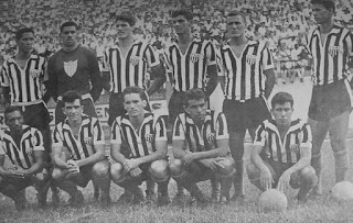 Excelente time do Galo nos anos 60.