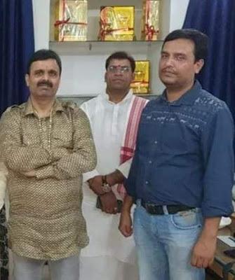 समस्तीपुर जिले के एक पुलिसकर्मी का छुट्टी के लिए दिया शपथपत्र