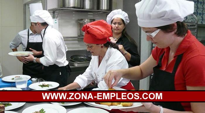 SE BUSCAN ASISTENTES DE COCINA Y BACHEROS/AS PARA CAFETERÍA