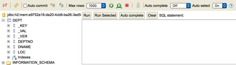 My workspace: Apache Ignite deep dive, SQL engine