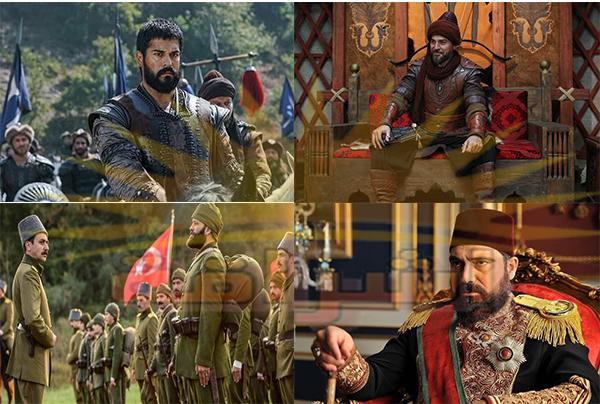 مسلسلات تاريخية تركية