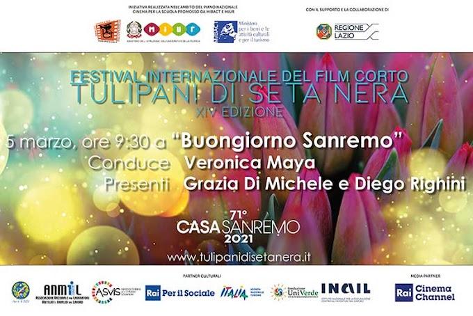 Il Festival Internazionale del Film Corto Tulipani di Seta Nera (TSN) ospite a Casa Sanremo 2021