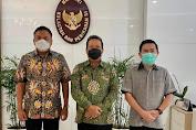 Gubernur Olly Temui Menteri KKP Trenggono, Bahas Sektor Perikanan dan Kunker ke Sulut
