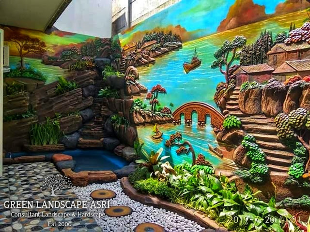 Jasa Tukang Relief Kolam Tebing Blitar | Jasa Pembuatan Dekorasi Kolam Air Terjun Tebing Di Blitar