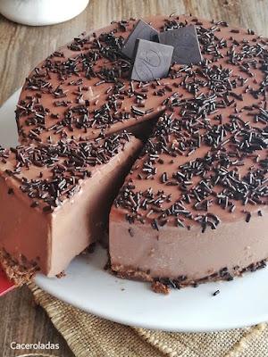 La tarta de chocolate mas rica y fácil