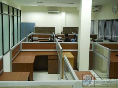 Jenis-Jenis Meja Partisi Kantor + Furniture Semarang ( Meja Sekat Kantor )